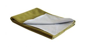 Glassiano Ninnu Water Proof Medium Size 70x100 Cm Golden Green Baby Sheet (code - Gi_nin_medium_goldengreen)