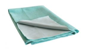 Glassiano Ninnu Water Proof Medium Size 70x100 Cm Green Baby Sheet (code - Gi_nin_medium_green)