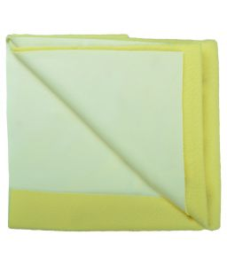 Glassiano Ninnu Water Proof Large Size 140x100 Cm Yellow Baby Sheet (code - Gi_nin_large_yellow)
