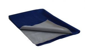 Glassiano Ninnu Water Proof Medium Size 70x100 Cm Royal Blue Baby Sheet (code - Gi_nin_medium_royalblue)