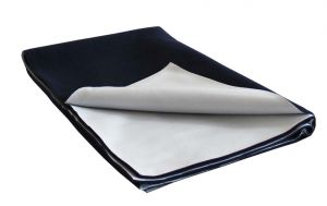 Glassiano Ninnu Water Proof Small Size 70x50 Cm Navy Blue Baby Sheet (code - Gi_nin_small_navyblue)