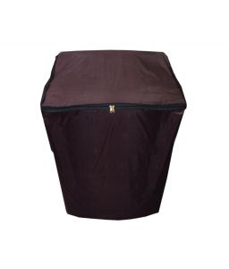 Glassiano Maroon Waterproof - Dustproof Washing Machine Cover For Fully Automatic 8.5kg Model - (code - Giwmc_fa_8kg_mehroon)