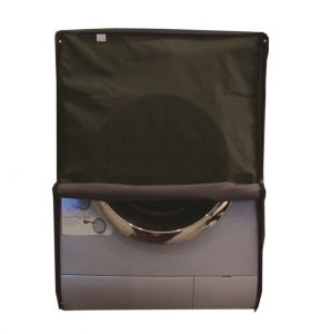 Glassiano Military Green Waterproof - Dustproof Washing Machine Cover For Front Load - (code - Giwmc_fl_h-32l-23w-23milittary)