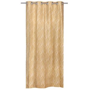 Be Gold Jacquard Contemporary Design Door Curtain