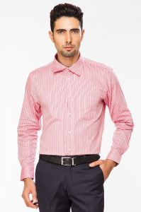 Dapper Homme Pink Color Egyptian Cotton Regular Fit Shirt For Men