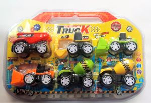 Truck - A Pack Of 6 Super Trucks (code Tr0020)