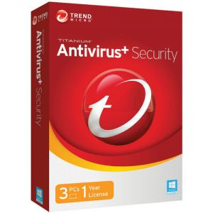 Trend Micro Antivirus Plus 1 Year 3 PC Licence Key