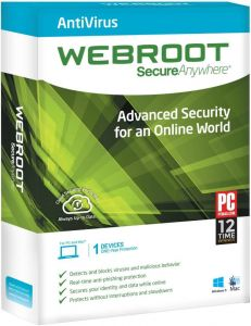 Webroot Secureanywhere Antivirus Licence Key