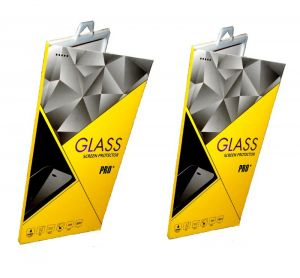 Tempered Glass Screen Guard For Lenovo A6000 (set Of 2)