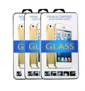 Tempered Glass Screen Guard For Lenovo A6000 (set Of 3)