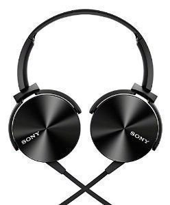 Sony Mdr-xb450 Extra Bass Black Headphone