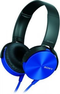 Sony Mdr-xb450 Extra Bass Blue Headphone
