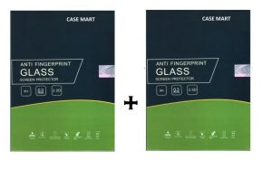Case Mart Transparent Lenovo A6000 Plus Tempered Glass (set Of 2)