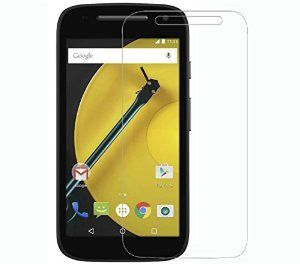 Motorola Moto E2 2nd Gen Tempered Glass Screen Protector Guard