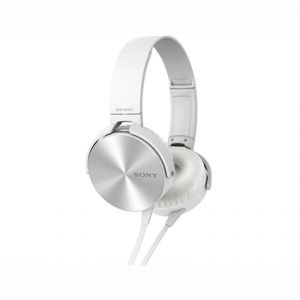 Sony Mdr-xb450 Extra Bass White Headphone