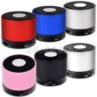 Portable Speakers - Wireless Bluetooth Mini Portable Bass Rechargeable Speaker Tf Slot Mic