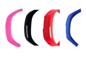 Oval - Digital Multi-colour Dial Women Watch (p_bl_r_blu_led_01)