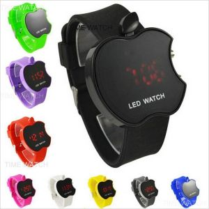 Latest Apple Shaped Watch With LED Display Stylish LED Watch Apple For All
