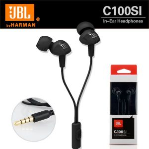 Panasonic,Motorola,Jvc,H & A,Vox,Jbl,Micromax,Lg Mobile Phones, Tablets - Jbl C100si In-ear Headphones With Mic