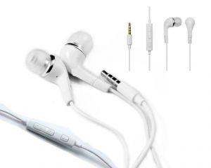 Brandpark Headphone Earphones Handsfree With Mic For Apple iPhone 4,4s, 5,
