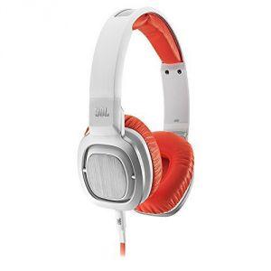 Jbl Electronics - Jbl J55i High-performance On-ear Headphones With Jbl Drivers, Rotatable Ear-cups And Microphone - Orange