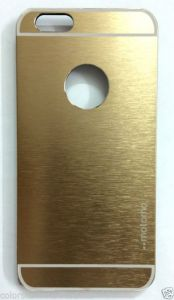 Motomo Back Cover Case For Apple I Phone6 Gold