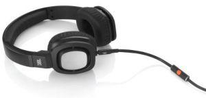 Jbl Electronics - Jbl J55i High-performance On-ear Headphones With Jbl Drivers, Rotatable Ear-cups And Microphone - Black