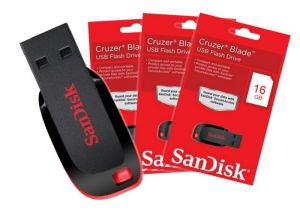 Sandisk Pen Drive - 16GB USB