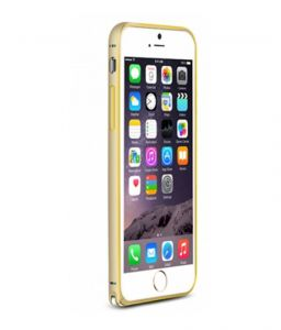 Apple iPhone 6 Plus Two Tone Aluminium Bumper Gold