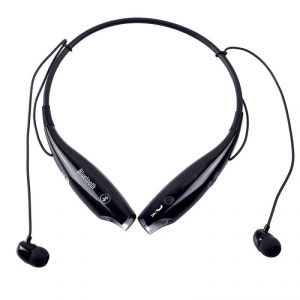 Blueooth Headsets - Rissachi Hbs-730 Bluetooth Wireless Stereo Headset (black)