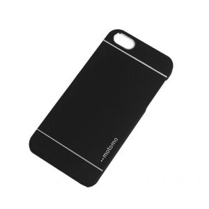 Motomo Metal Back Case Cover For Apple iPhone 5 Full Black