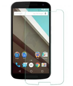 Tempered Glass Screen Protector For Motorola Nexus 6.