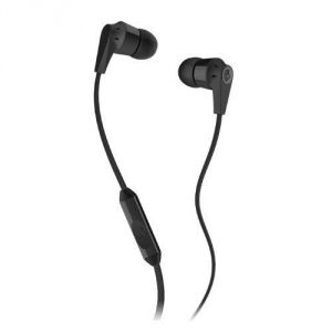 "Skullcandy Supreme Sound Earphones Ink""d 2.0 (flat Cord W/ Mic) Earbud Headphones - Hassle Free Packaging (black)"