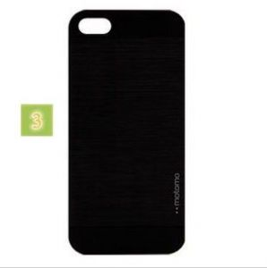 Luxury Deluxe Glossy Motomo Hard Case Cover Skin For iPhone 5 5s Black