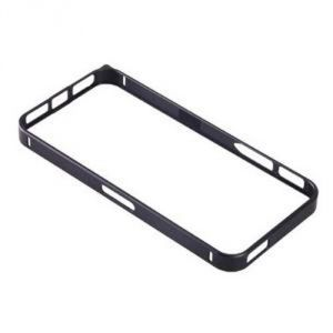 Bumper case - Metal Bumper Case For Apple iPhone 5g (black)