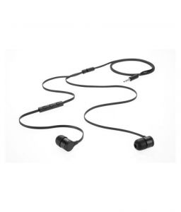 Brandpark Black Earphones With Remort & Mike Compatible For Samsung Galaxy