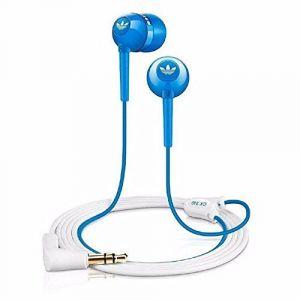 Earphones - Sennheiser Cx310 Stylish In-ear Headphone Featuring The Adidas Logo And Bass-driven Sound - Blue