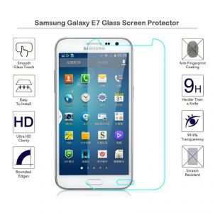 Samsung Galaxy E7 2.5d Curved Tempered Glass Screen Protector