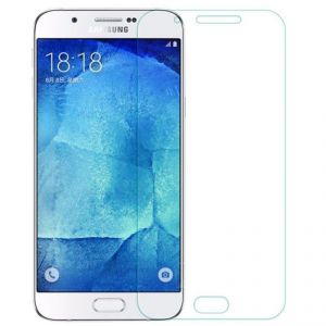 Samsung - Samsung Galaxy A8 2.5d Curved Tempered Glass Screen Protector