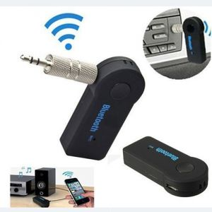 Ksj Wireless Car Bluetooth Receiver Adapter 3.5mm Aux Audio Stereo Music Home Hands-free Car Bluetooth Audio Adapter