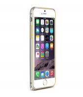 Apple iPhone 6 Plus Two Tone Aluminium Bumper Silver