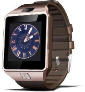Smart watches - General Aux Smart Phone Watch R7 ( Bronze )