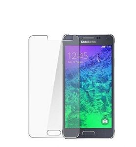 Trendz Tempered Glass Screen Guard For Samsung Galaxy E7 Round Edges