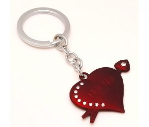 Sanaa Creations Combo Of Connected Heart Shape Pendant Either Use As Keychain/pendant-(product Code-1kp01)