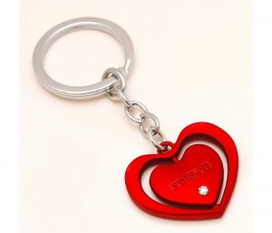 Sanaa Creations Multi Use Of Heart Shape Keychain/pendant For Friends-(product Code-1kp12)
