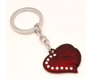 Sanaa Creations Multi Use Of Stylish Heart Shape Keychain/pendant For Fashion Lover-(product Code-1kp20)