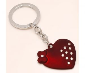Sanaa Creations Combo Of Flower & Heart Shape Pendant Either Use As Keychain/pendant-(product Code-1kp21)