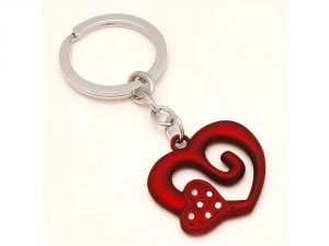 Sanaa Creations Multi Use Of Designer Heart Shape Keychain/pendant For Fashion Lover-(product Code-1kp25)