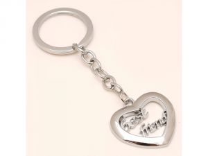 Sanaa Creations Combo Of Best Friend Handcarved Heart Shape Pendant Either Use As Keychain/pendant -(product Code-1kp44)
