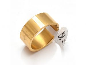 Sanaa Creations Unisex Yellow Gold Plain Comfort Fit Band Ring-(product Code-1mr18)